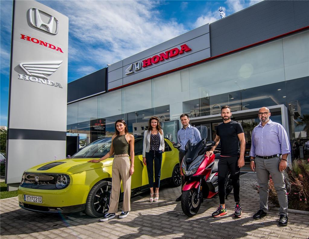 Όμιλος Επιχειρήσεων Σαρακάκη & Honda: Χορηγοί των Αθλητών Ευαγγελίας Πλατανιώτη & Κωνσταντίνου Βέλτση
